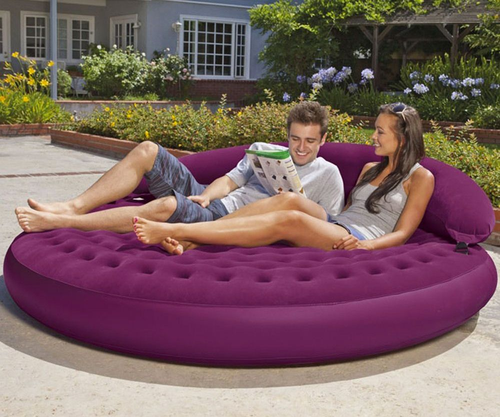 Inflatable furniture  Intex Ultra Daybed Inflatable Lounge  Pinterest  Daybed Outdoor