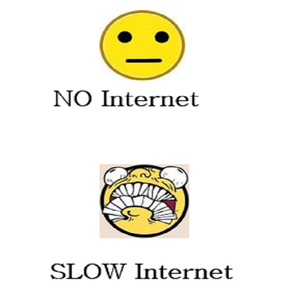No Internet Vs Slow Internet Internetconnection Justforfun Frustration Slow Internet Internet Snapchat Screenshot
