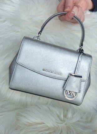 Kaufe meinen Artikel bei #Kleiderkreisel http://www.kleiderkreisel.de/damentaschen/umhangetaschen/144077446-michael-kors-tasche-ava-xs-silber-metallic-neu