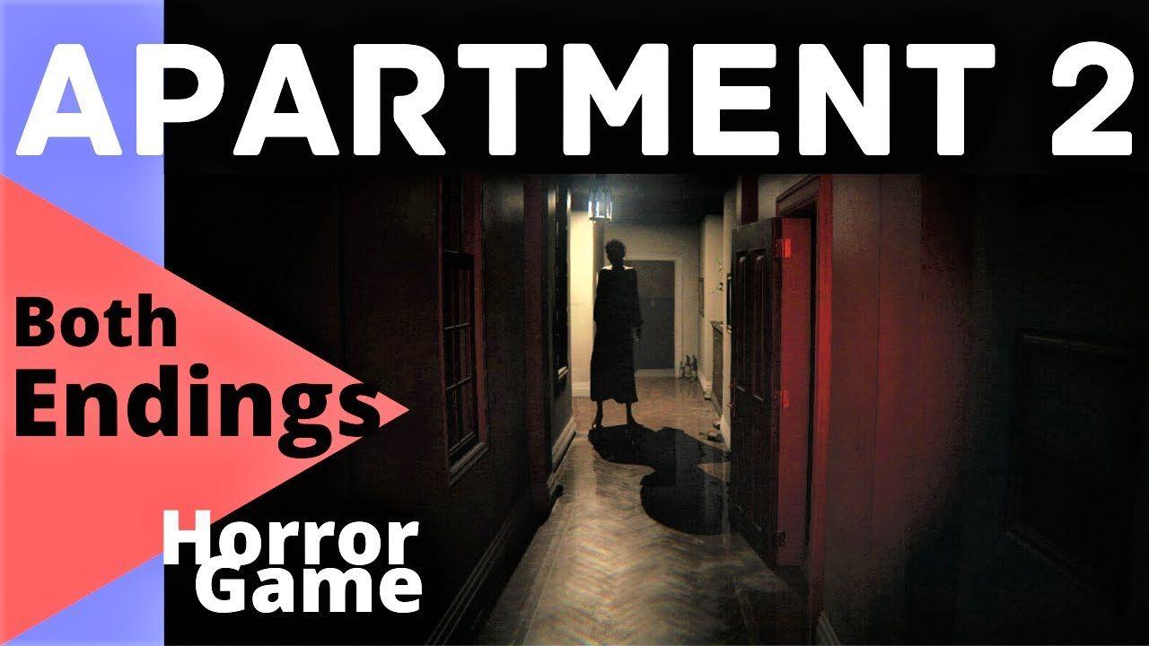 Horror Game Apartment 2 Both Endings Horror Game Horror Games