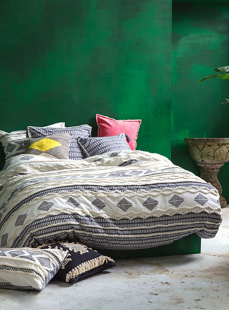 bedding product duvet multi floral flannelette flannel cover linenstar brushed tribal stripes cotton set
