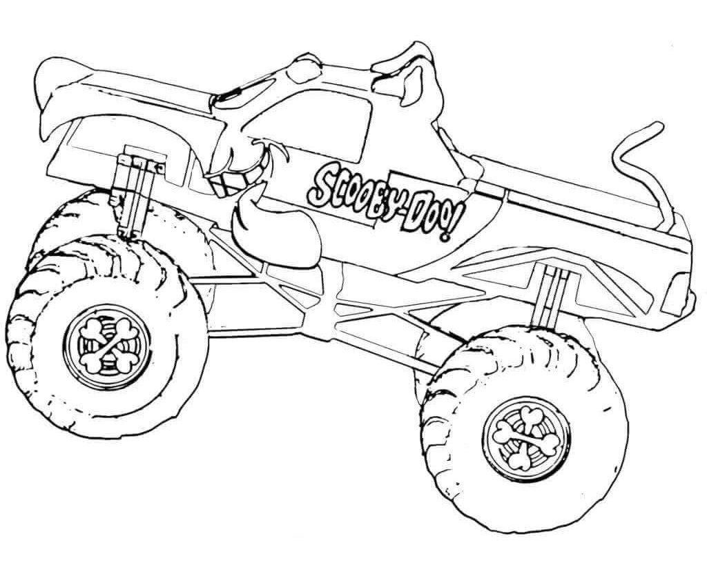 Monster Truck Coloring Pages Elegant Coloring Monster Truckring Book Page For Kids Free Monster Truck Coloring Pages Monster Trucks Truck Coloring Pages