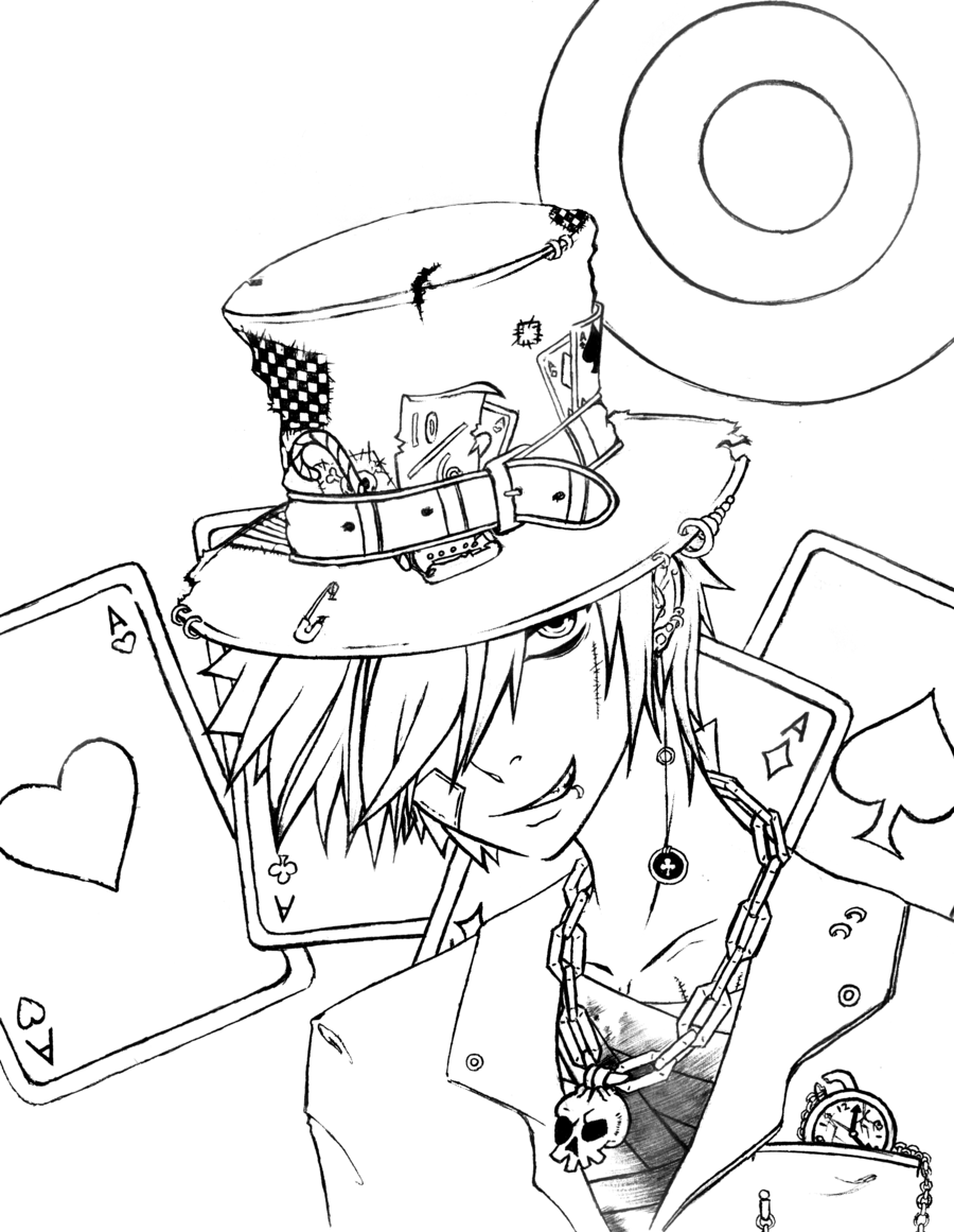 Mad Hatter Coloring Pages Alice And Wonderland Tattoos Wonderland Tattoo Mad Hatter [ 1161 x 900 Pixel ]