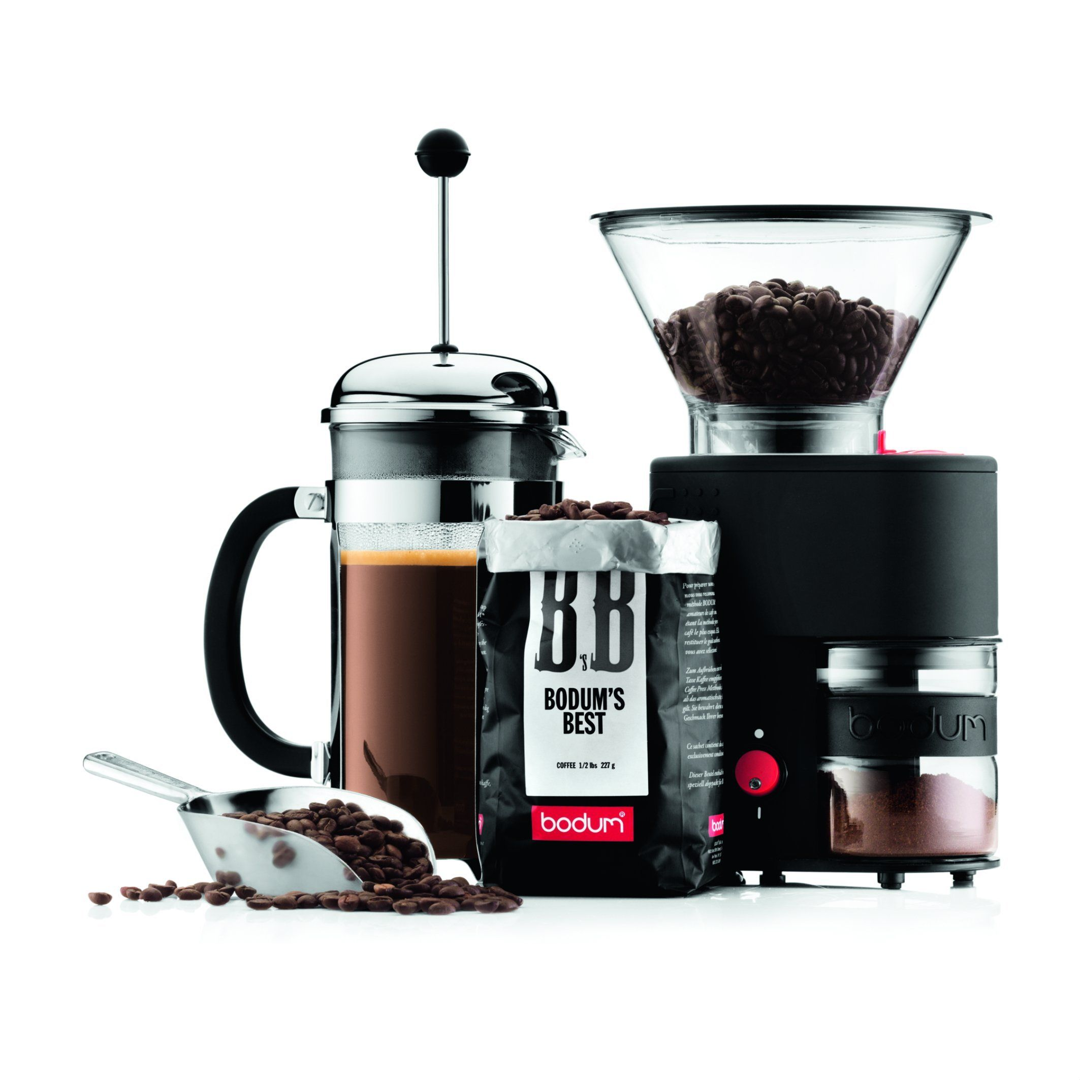 Bodum Bistro Burr Grinder Electronic Coffee Grinder with