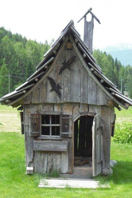 This Would Make A Great Chicken Coop Shedplans Play Houses Backyard Sheds Shed Plans