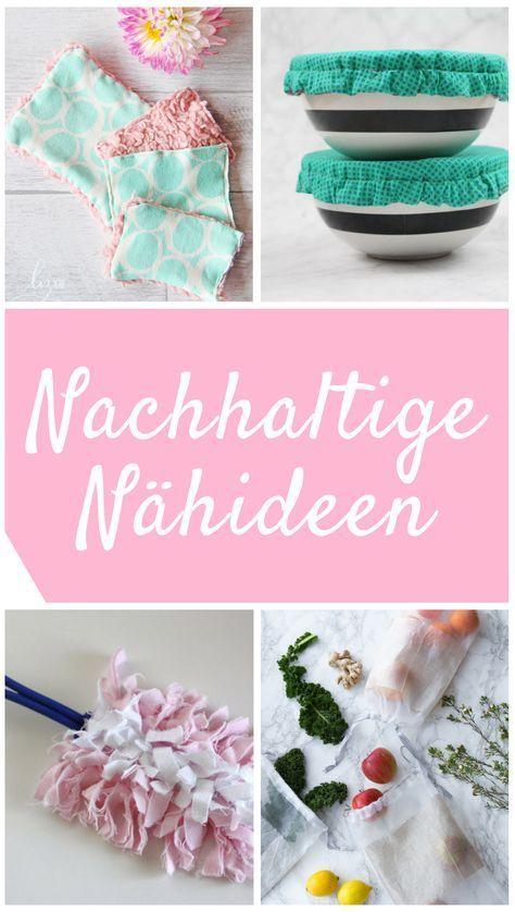 Photo of 8 Nähideen für mehr Nachhaltigkeit im Alltag  |  DIY MODE