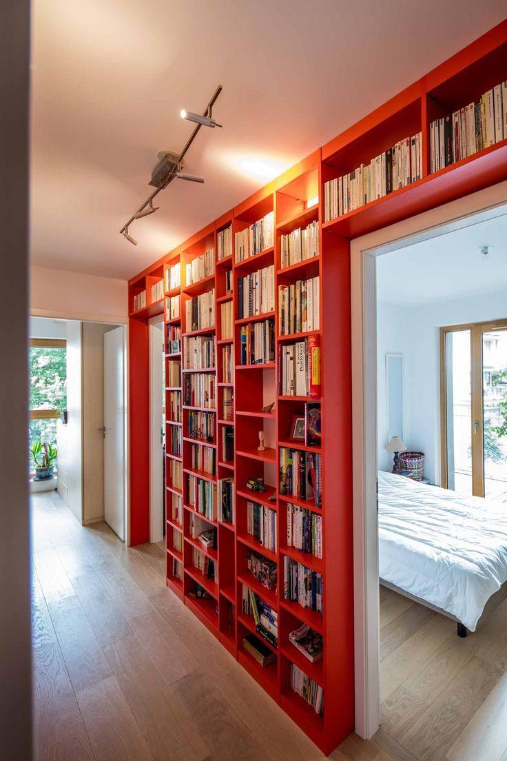 Bibliotheque Design Et Sur Mesure La Compagnie Des Ateliers Bibliotheque Design Amenagement Maison Deco Maison