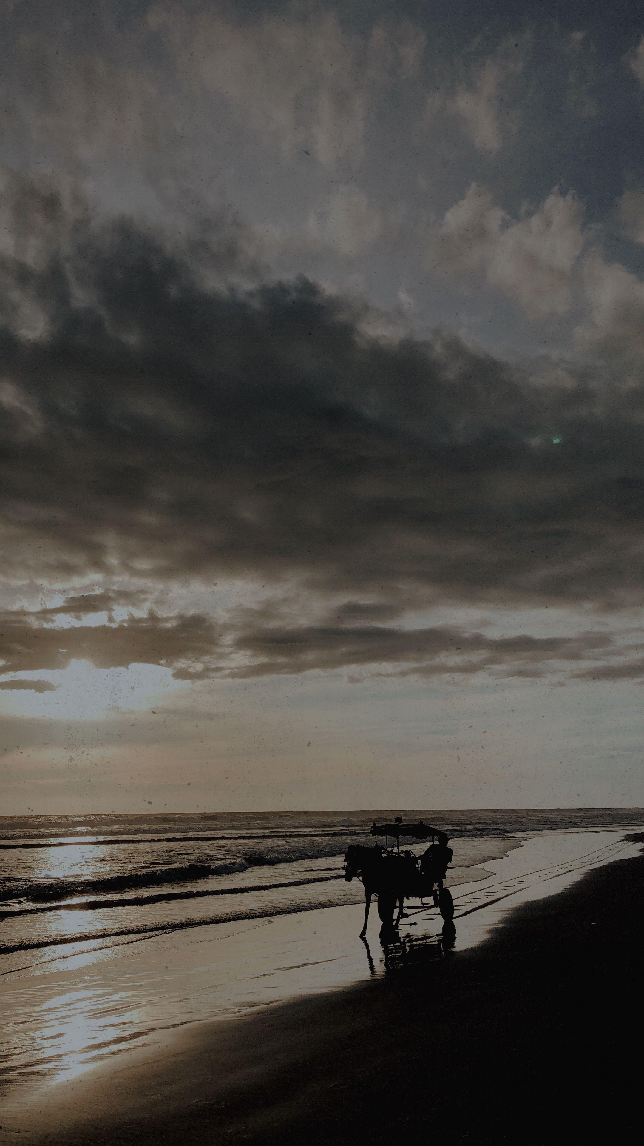 Pantai Panjang Bengkulu Latar Belakang Pantai Fotografi Perjalanan