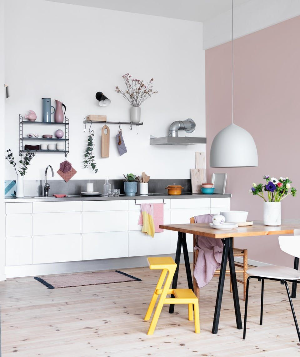 Green And Purple Kitchen: Forny Dit Køkken