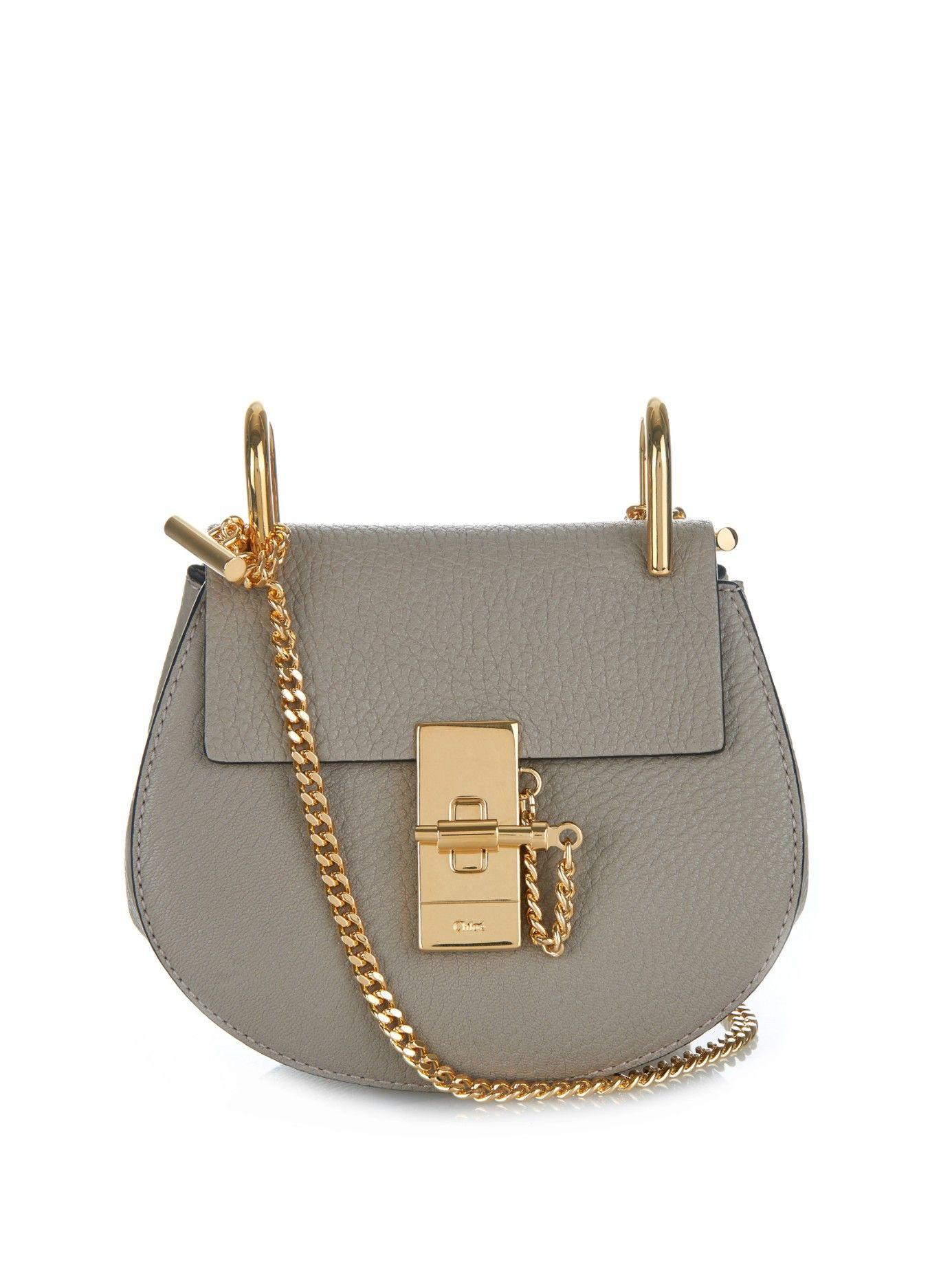 Drew nano leather shoulder bag  6522e9021