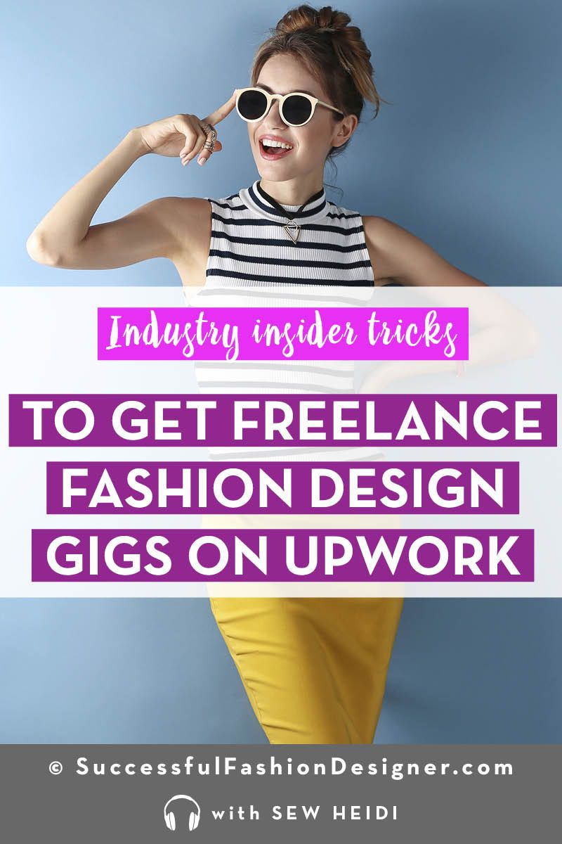 How to Get Freelance Fashion Design Jobs (using Upwork