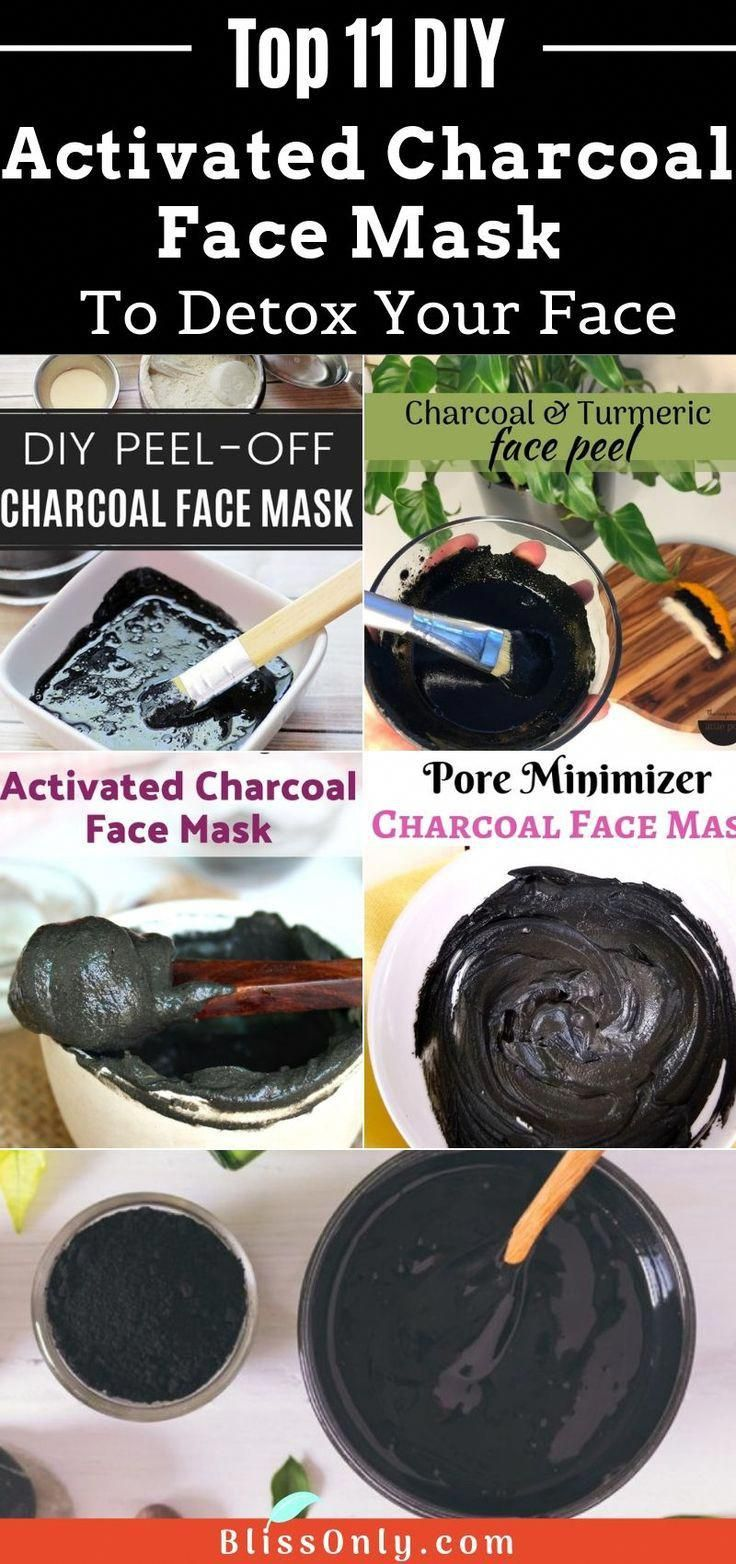 11 easy DIY charcoal mask recipes to treat stubborn acne