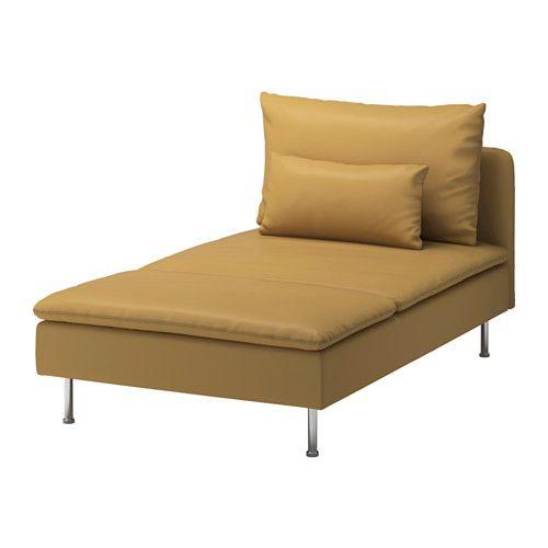 SÖDERHAMN Chaise longue - Finnsta turquoise | Ikea sofa ...