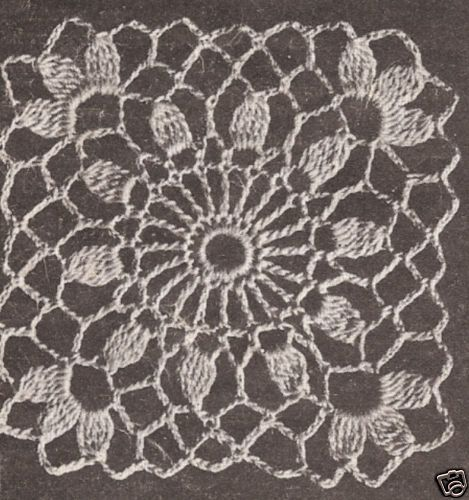 Free pineapple crochet round tablecloth pattern #castles