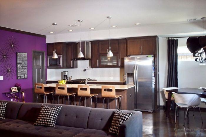 1001 ideas de decorar las cocinas abiertas al sal n for Sala de estar estancia cocina abierta