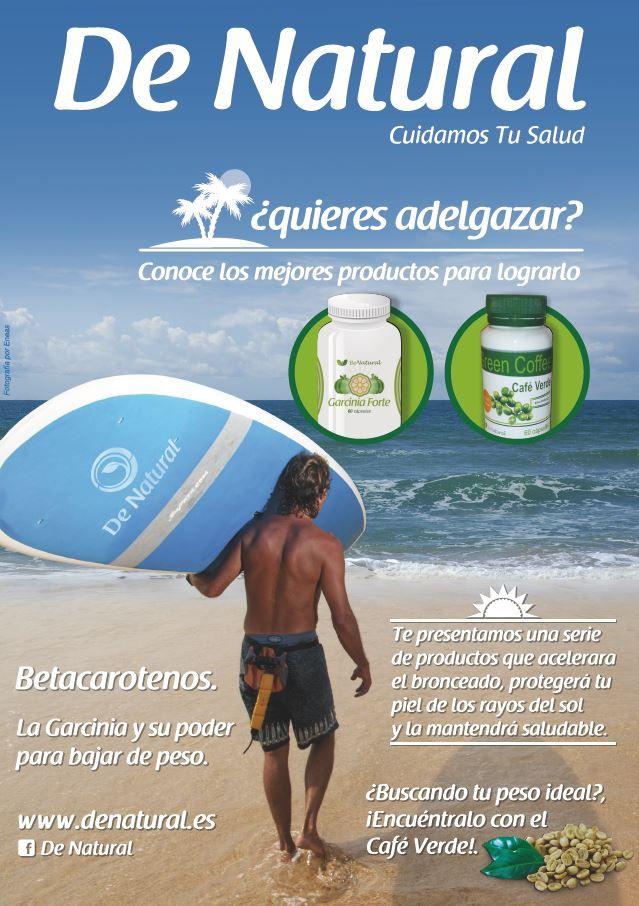 ¿Ya viste nuestra revista de verano?http://www.denatural.es/topventas/cafe-verde-descafeindao-bote-de-garcinia-cambogia