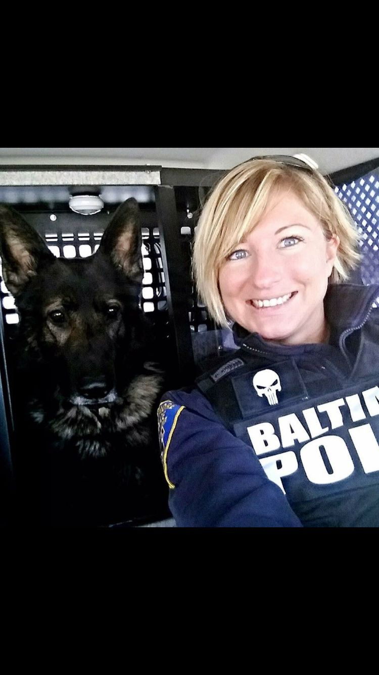 German Shepherd Police K9 Unit Team God Bless Protect You Police Dogs Police Military Dogs