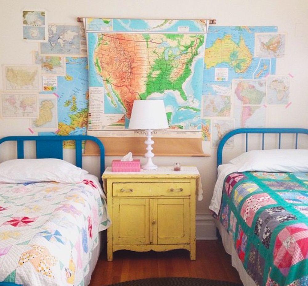 craft weekend 2015 Kids bedroom decor, Kids shared