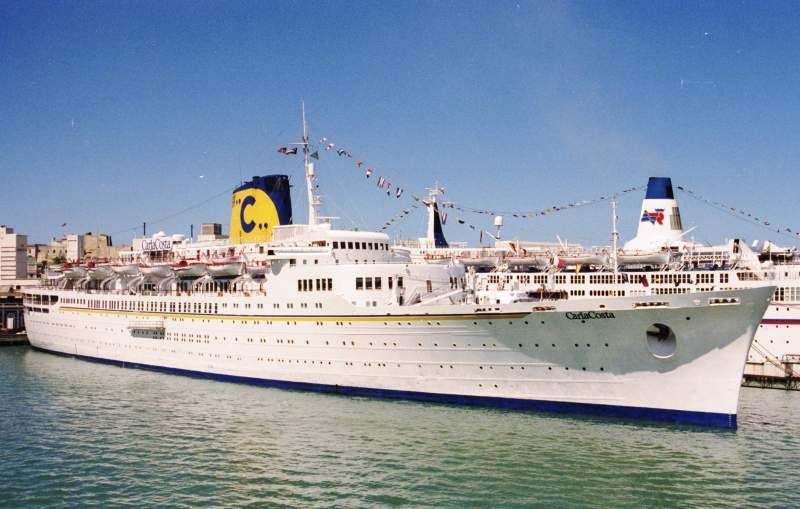 Carla Costa Imo 5116098 Shipspotting Com Ship Photos And Ship Tracker Cruise Ship Costa Ships Passenger Ship