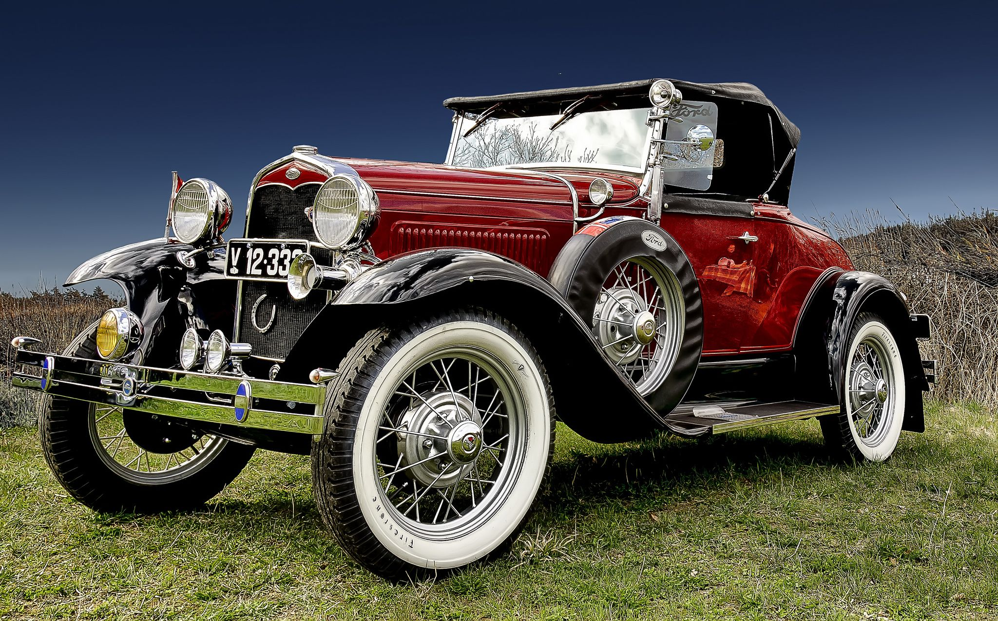 Classic Car HDR Ford A Roadster 1931