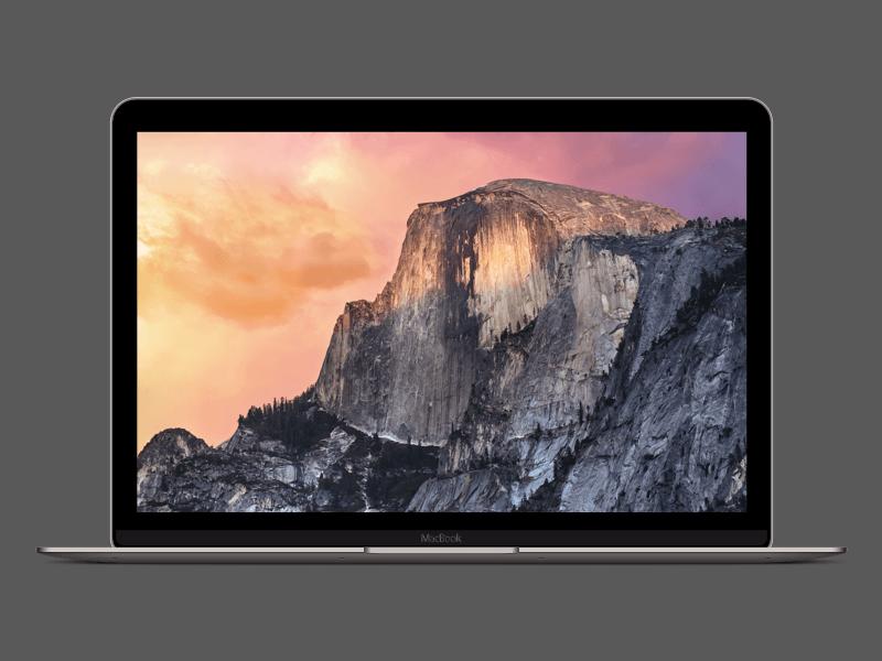 Space Grey Retina Macbook Sketch Freebie Download Free Resource For Sketch Sketch App Sources Macbook Retina Macbook Mockup Mac Os X Yosemite