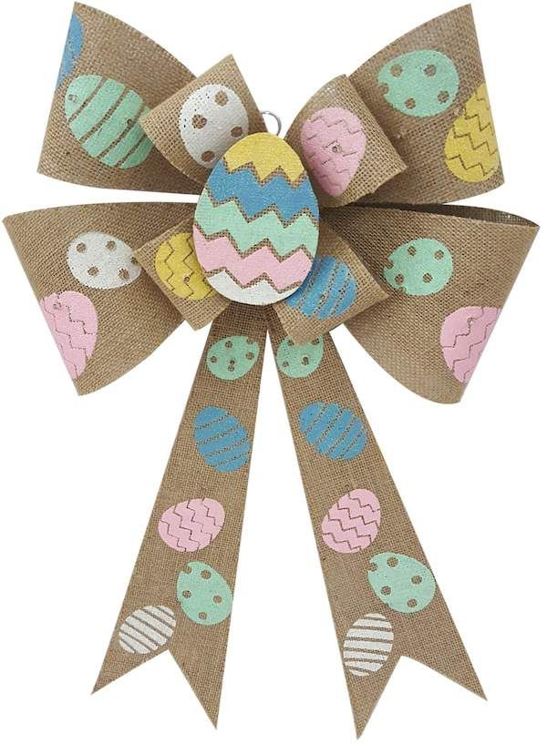 Celebrate Easter Together Light Up Bow Wall Decor