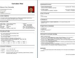 Image Result For Bca Fresher Resume Format Download Pdf Download