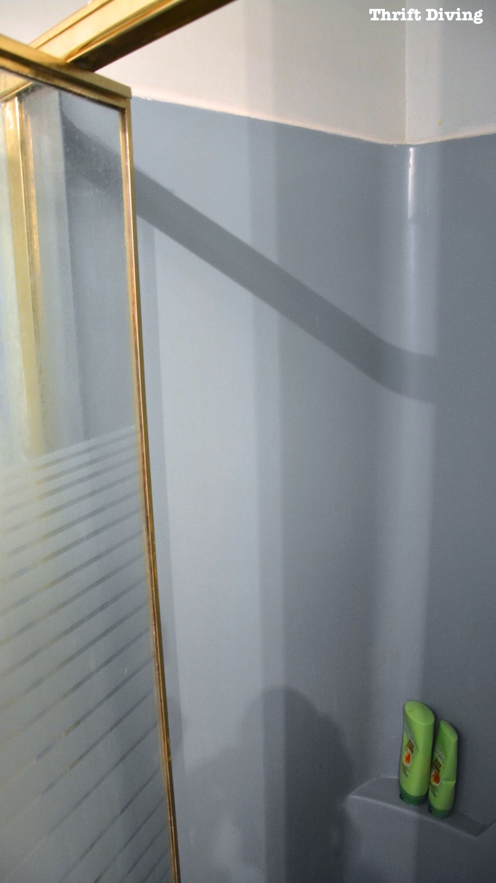 DIY Shower and Tub Refinishing: I Painted My Old 1970\'s Shower ...