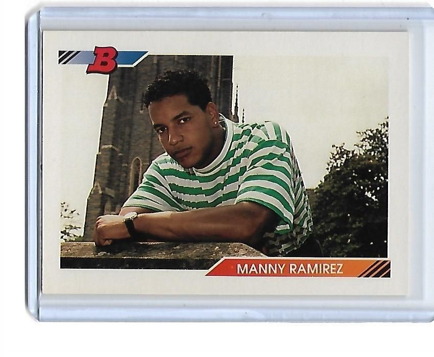 Manny ramirez bowman baseball cards baseball