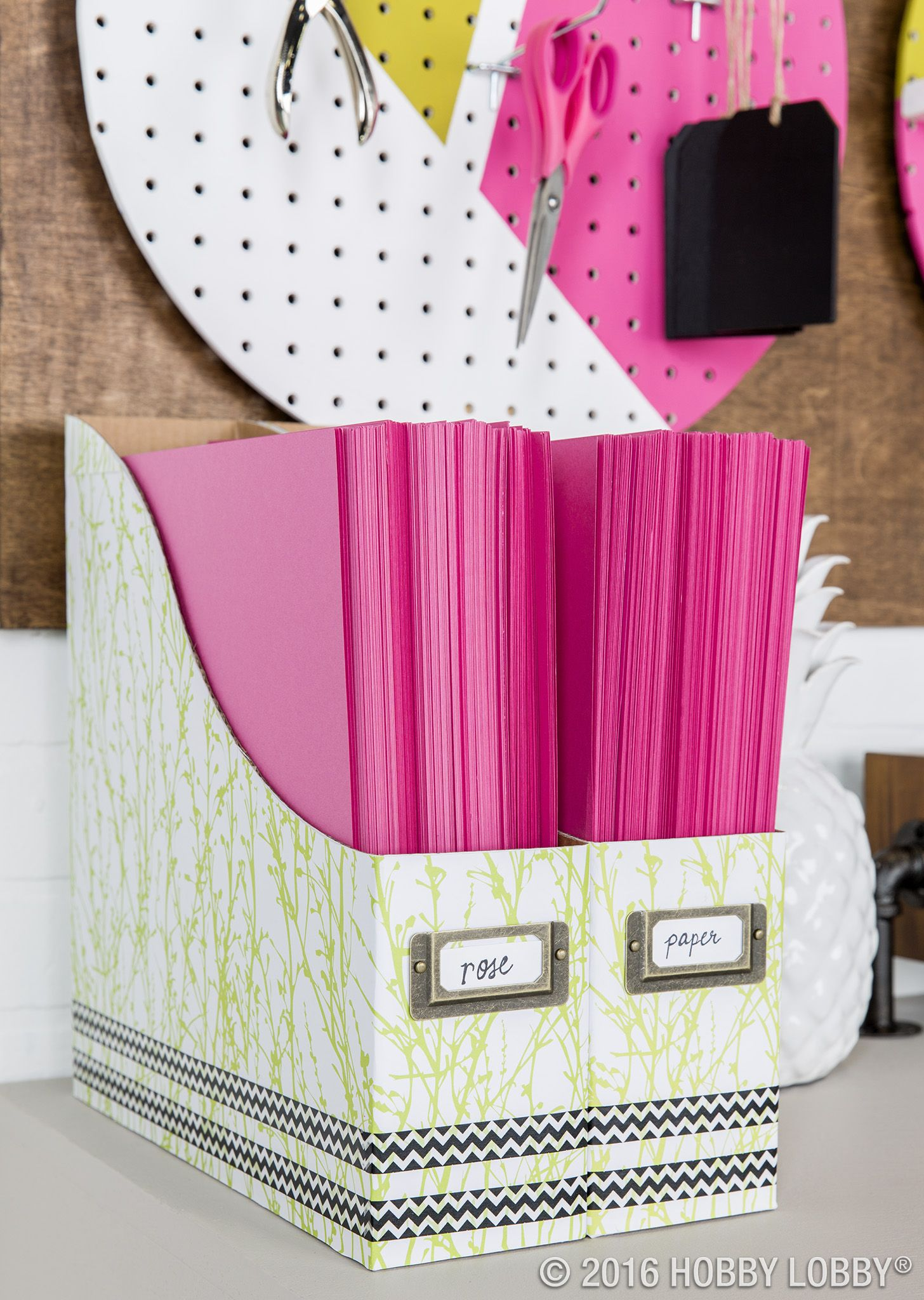 White Paper Storage Boxes Paper Storage Scrapbook Paper Storage