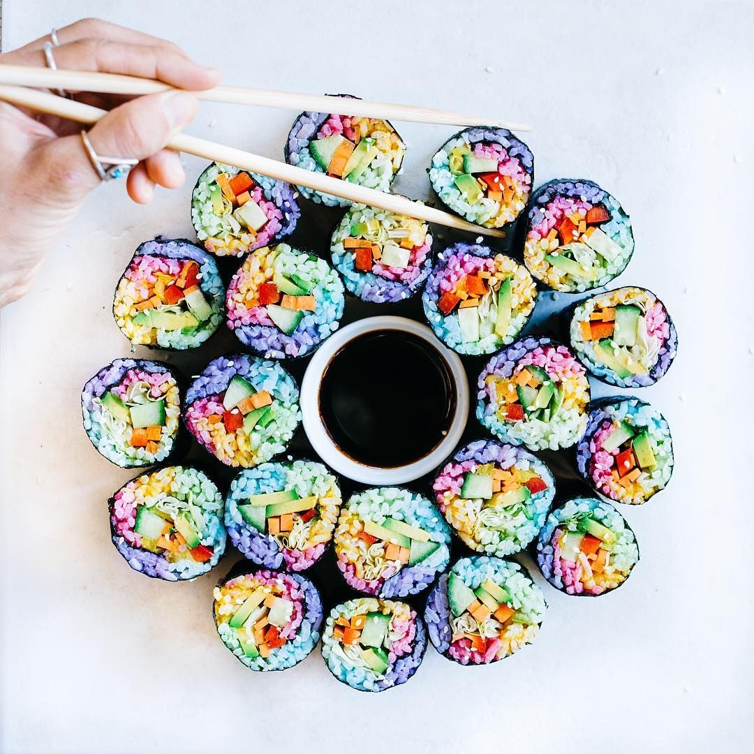 Rainbow Sushi Is the Latest Food Trend You Need to Try | Brit + Co