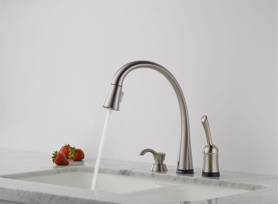 Image Result For Single Faucet Pull Down Kitchen Faucet Soap Awesome Kitchen Sink Soap Dispenser 2018