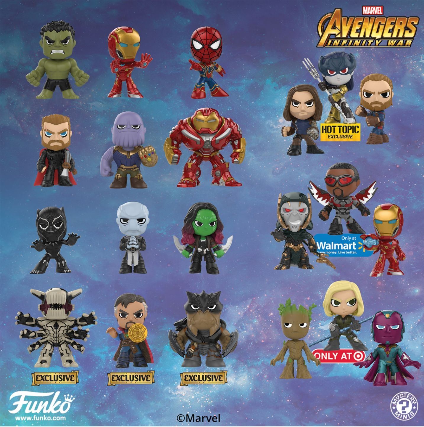 Funko Has A Ton Of New Pops For Avengers Infinity War Funko Funko Pop Toys Pop Vinyl Figures