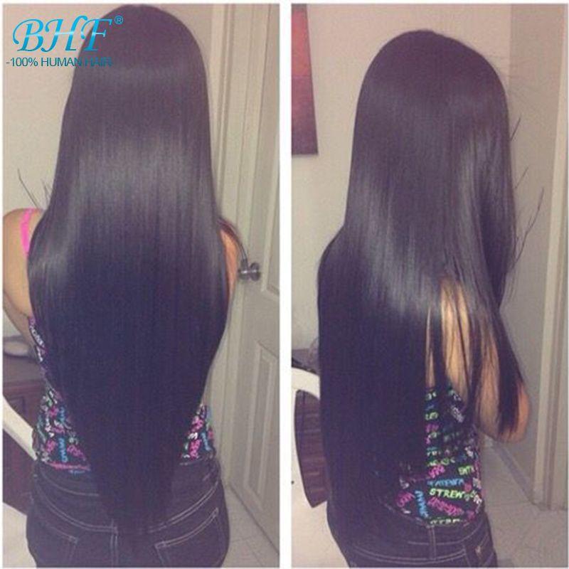 Clip en Extensions de Cheveux Humains 100g Pince à Cheveux Vierges Brésiliens en Extension de Cheveux Humains Clip Ins Pour Cheveux Noirs