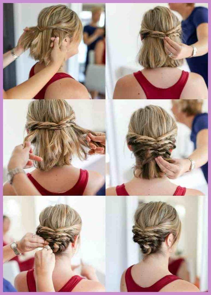 20 Hochzeitsfrisuren für kurzes Haar – 101 Frisuren – Hairstyle Women / Pinterest