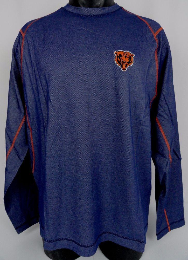 5a262a54 NWT Tommy Bahama NFL Chicago Bears Double Eagle Long Sleeve T-Shirt ...