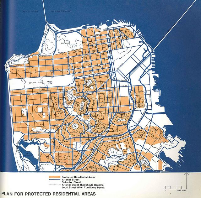 Plan For Protected Residential Areas 1971 Urban Design Plan How To Plan Urban Planning