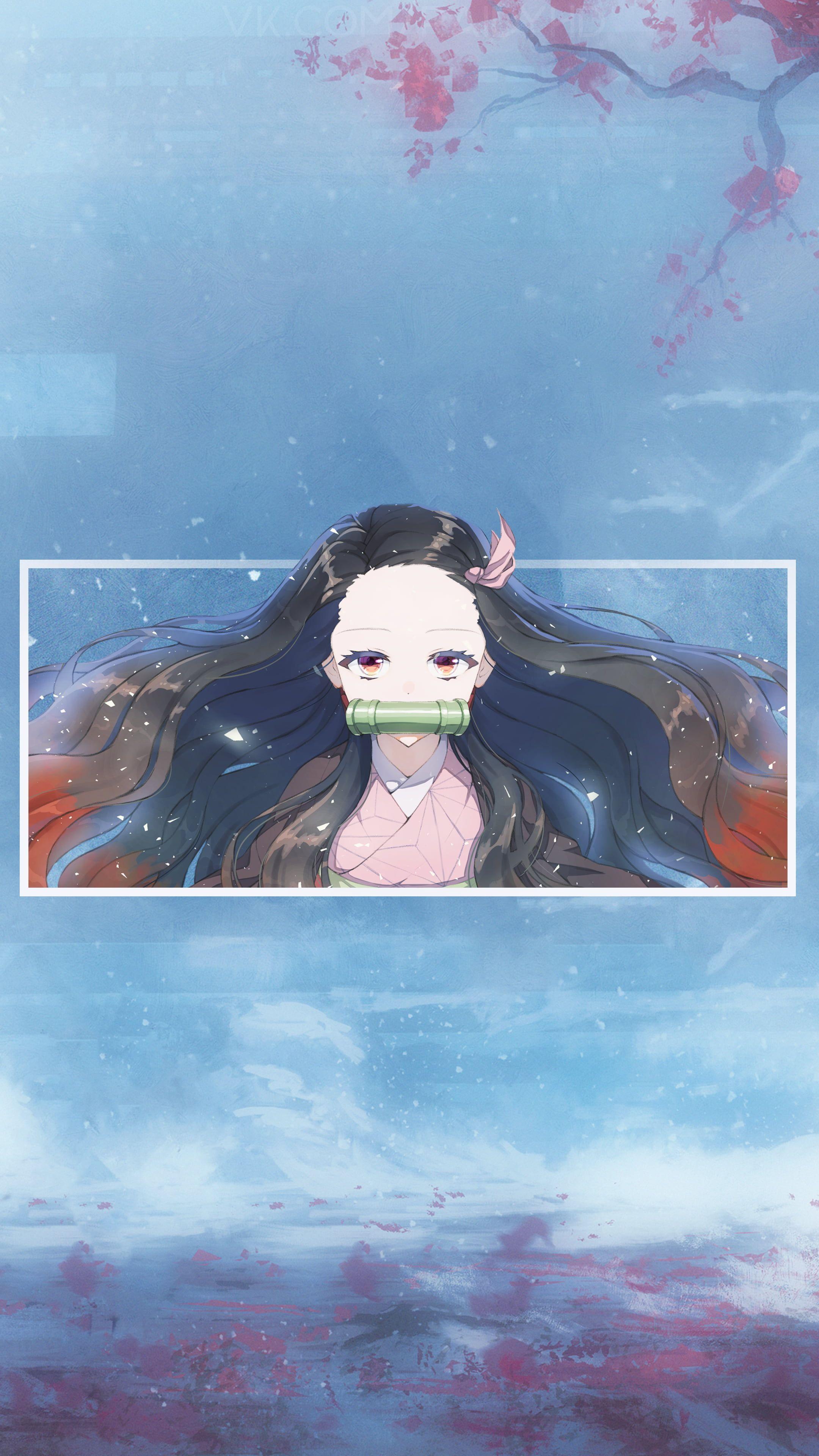 #anime anime girls #picture-in-picture #Nezuko Kimetsu no Yaiba #4K #wallpaper #hdwallpaper #desktop