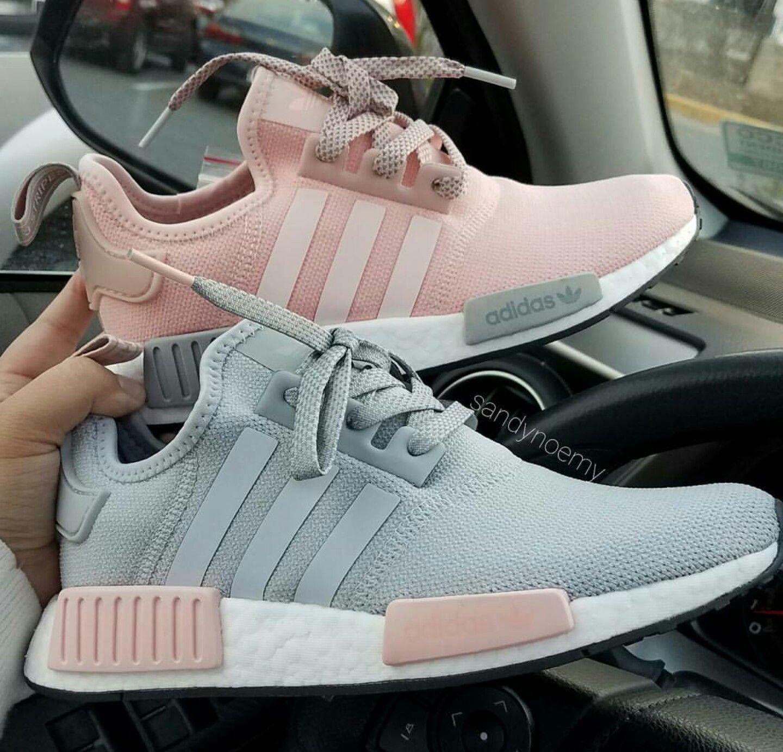 adidas Originals NMD in grey pinkgrau rosa Photo by