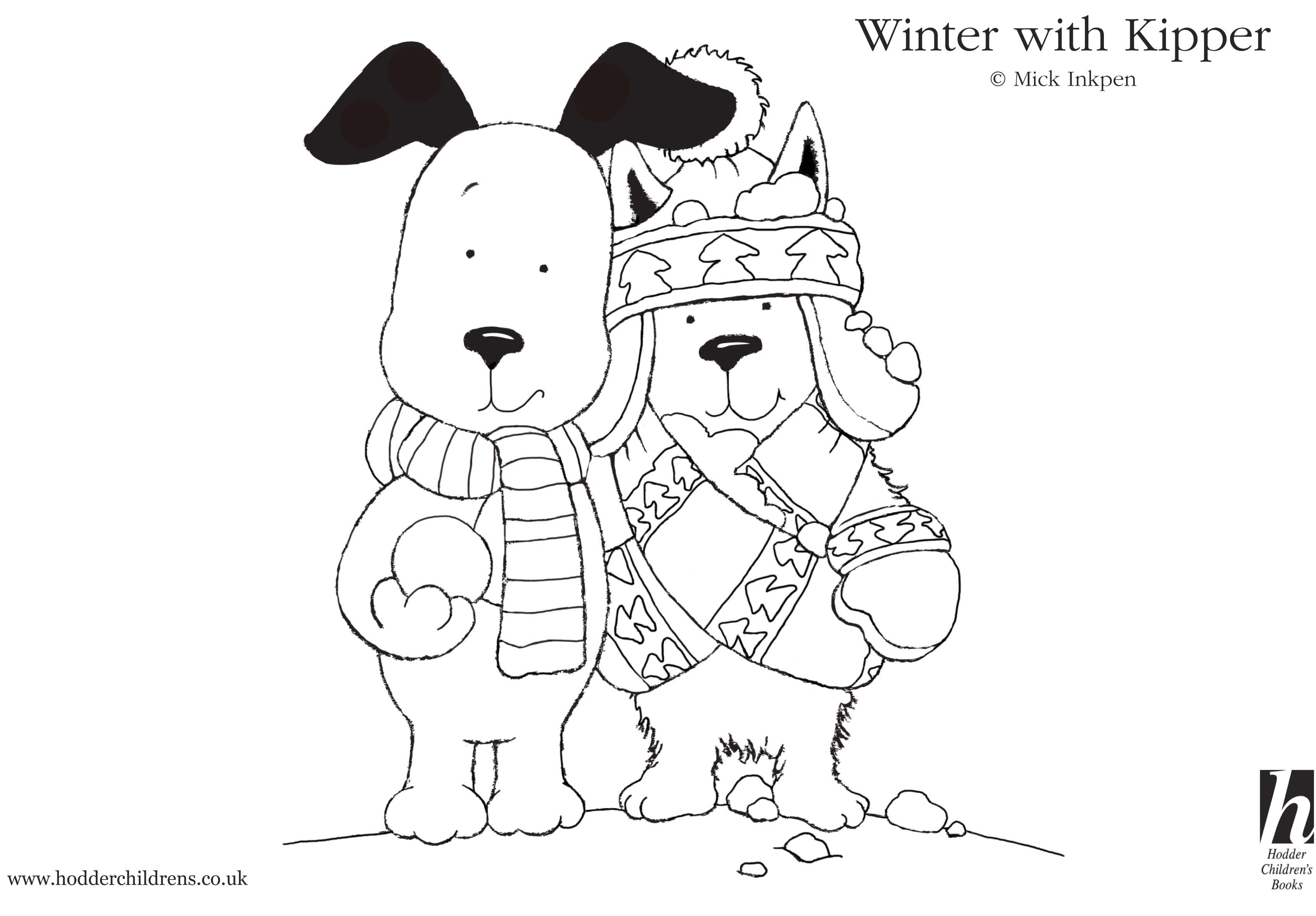 Download Dog Coloring Pages Preschool Pinterest Colouring - Kipper-coloring-pages