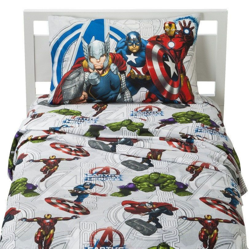Best Marvel Avengers Earth S Mightiest Heroes Kids 3Pc Twin Bed 640 x 480