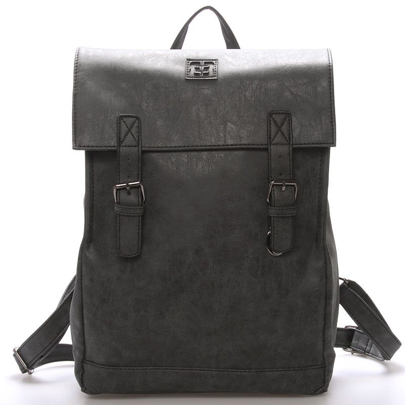 acf0cfc2d3  EnricoBenetti Módní stylový batoh černý - Enrico Benetti Travers