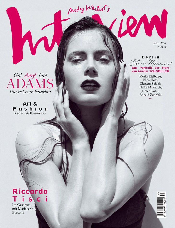 Amy Adams for Interview Germany March 2014