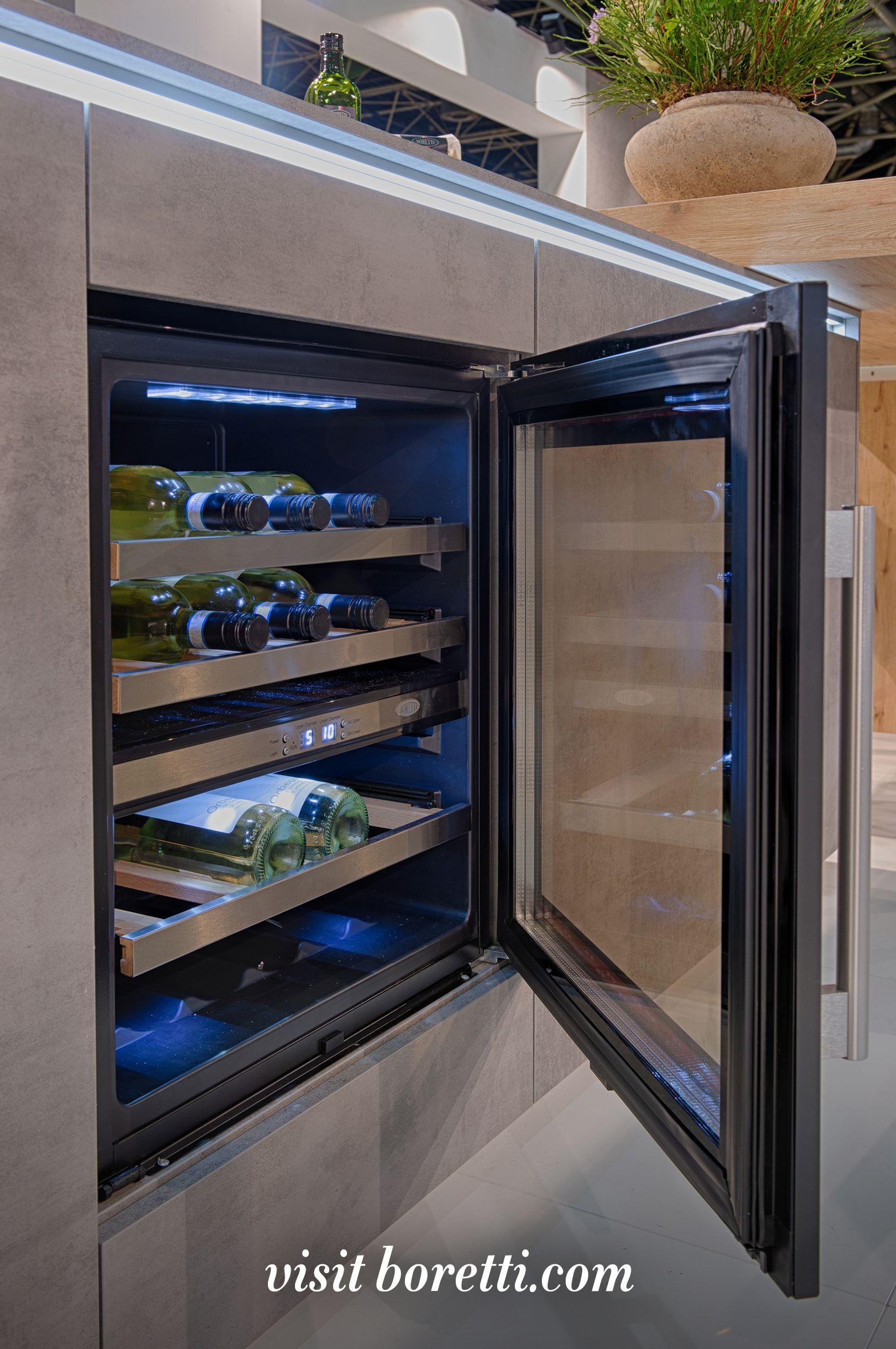 Boretti Wijnklimaatkast 60cm Keukens Renovaties Luxe