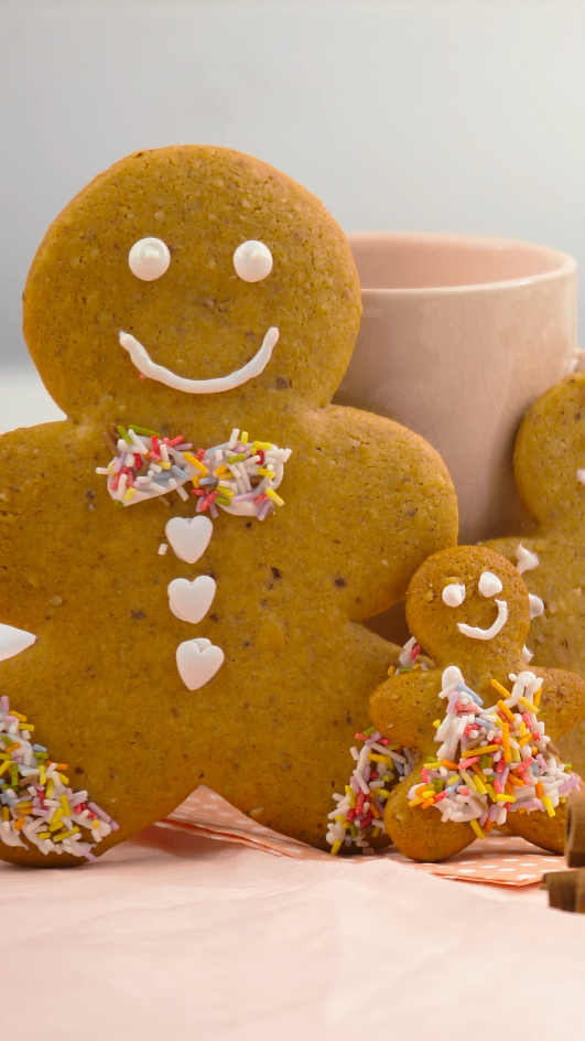 Photo of gingerbread men