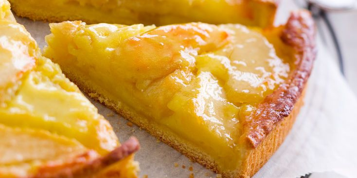 Tarte aux pommes normande recipe 50 15 and 1 - Cuisine normande traditionnelle ...