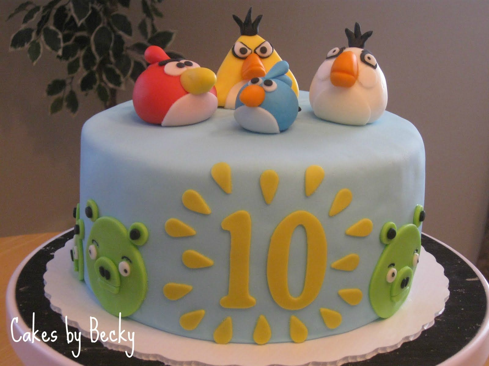 Cakes by Becky Angry Birds Birthday Cake Cakes Pinterest