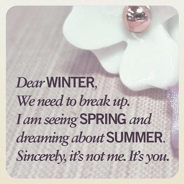 Instagram Photo By Iam Accessories I Am Via Iconosquare Weather Quotes Springtime Quotes Warm Weather Quotes Подбор аккордов для песни ajr dear winter. weather quotes springtime quotes