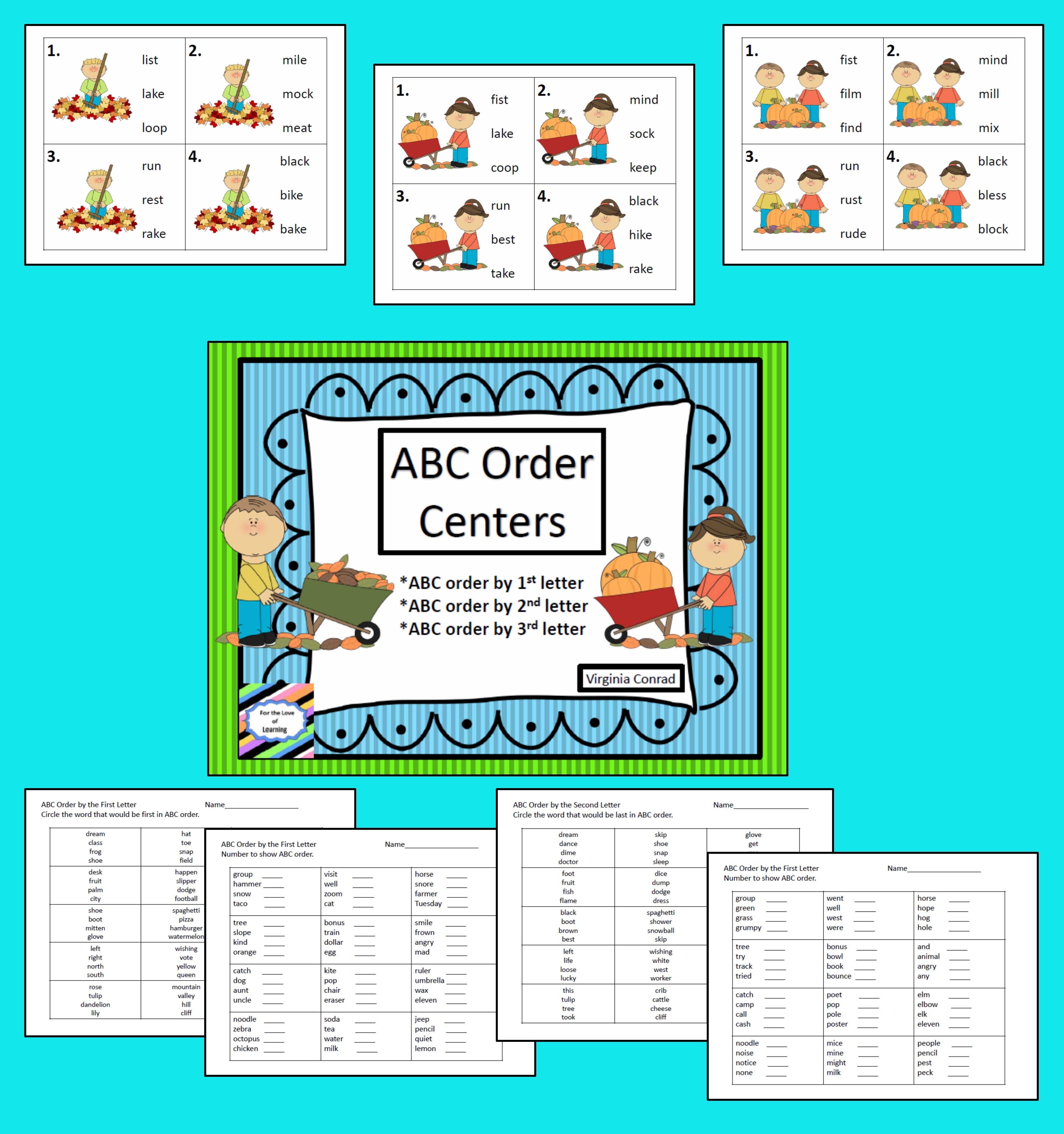 Abc Order Fall Centers