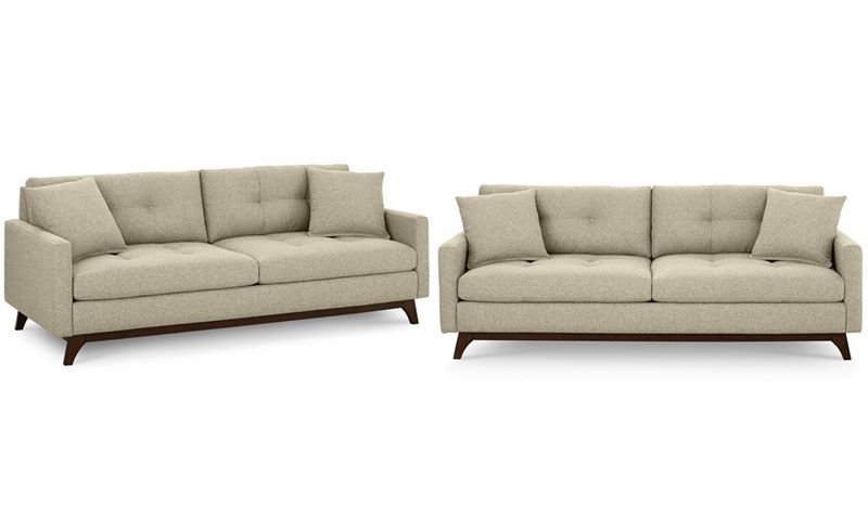 Nari Tufted Back Sofa With 2 Toss Pillows, Only At Macyu0027s   Couches U0026 Sofas